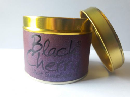 Lily-Flame Candles - Black Cherry